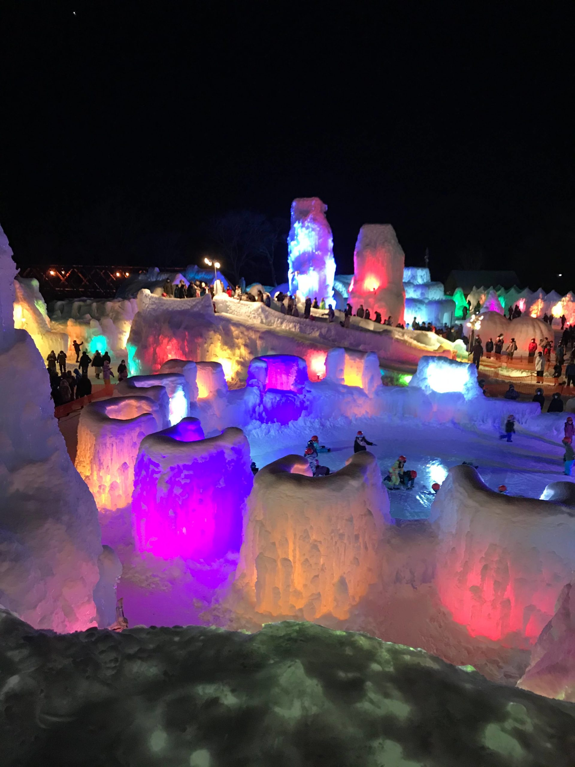 氷 濤 まつり 2021 層雲峡温泉 氷瀑まつり2021-北海道層雲峡観光協会